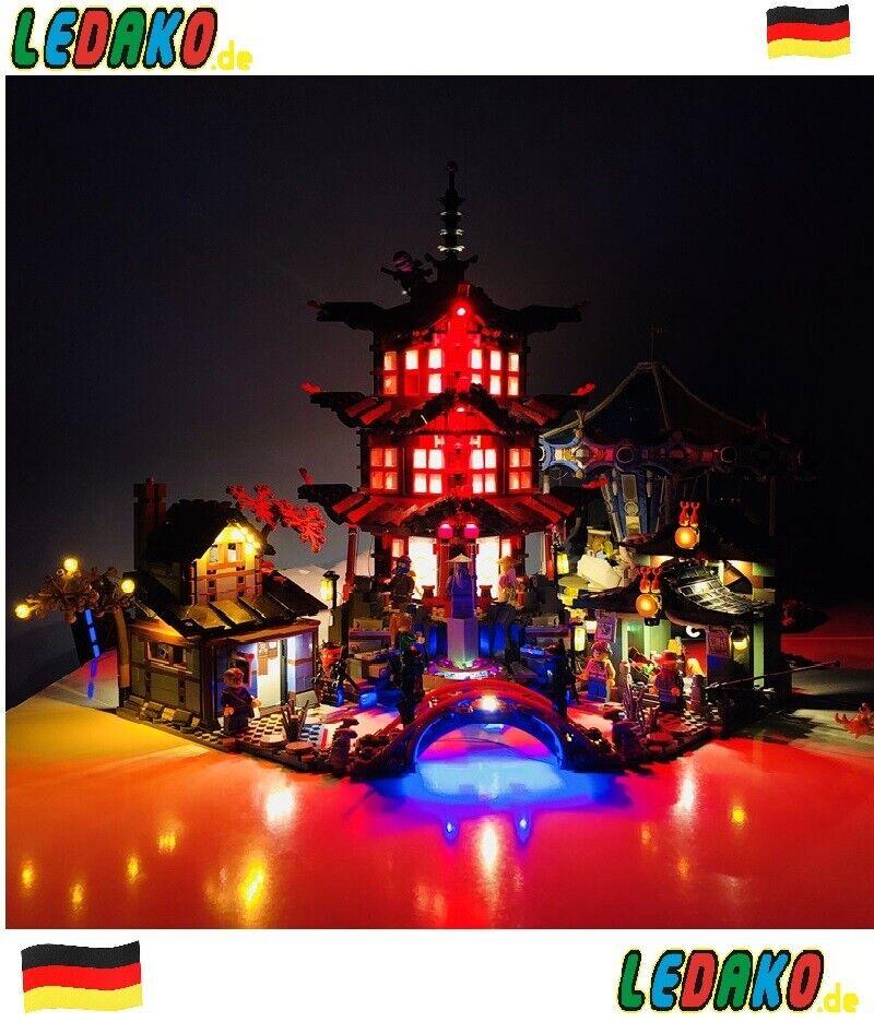 DEL Beleuchtungsset pour  LEGO ® pour 70751 Ninjago-Temple du airjitzu de ledako  à vendre