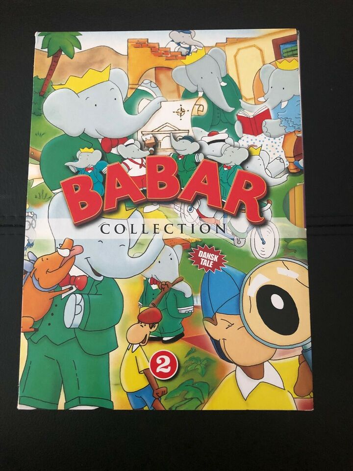 Babar Collection, DVD, tegnefilm