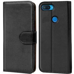 Book-Case-fuer-Xiaomi-Mi-8-Lite-Huelle-Tasche-Flip-Cover-Handy-Schutz-Huelle