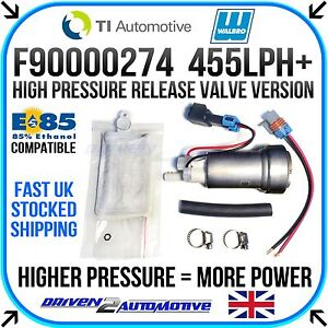 Details about Walbro F90000274 455LPH In-tank Fuel Pump Performance Upgrade  - UP TO 750HP!