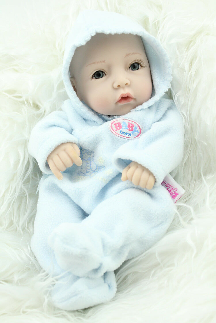 Newborn Boy Baby Soft  Body Reborn Dolls  Kids Model Birthday Toy