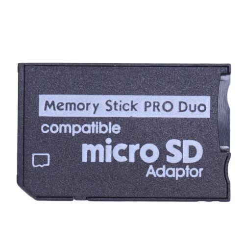Memory Stick Pro Duo Mini MicroSD TF Para adaptador lector de tarjetas SD SDHC MS F B6F4 5X