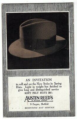 Yorkshire Sheffield Austin Reed S Advertising Hats Ebay