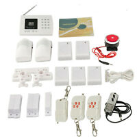 Wireless PSTN/GSM PIR Home Security Burglar Alarm System Auto Dialing Dialer