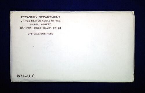 1971 U.S Envelope Sealed // Unopened. MINT SET ISSUED BY US MINT