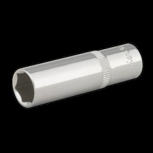SP3813D-Sealey-WallDrive-Socket-13mm-profunda-unidad-3-8-034-Sq-Completamente-Pulido