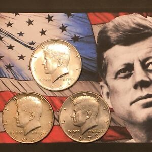 Kennedy-Half-Dollar-Set