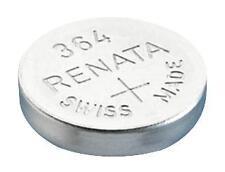 Baterías-no recargables-botón de células óxido S 1.55V 364