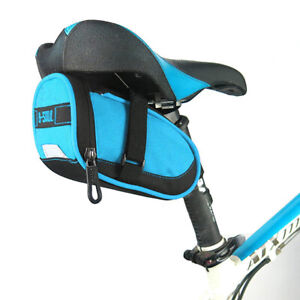 Outdoor Bike Under Seat Pack Bicycle Saddle Bag Cycling Seat Storage Pouch Bags