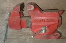 Craftsman Bench Vise Vice Anvil Swivel 3 12 Jaws Made In Usa No 506 51801
