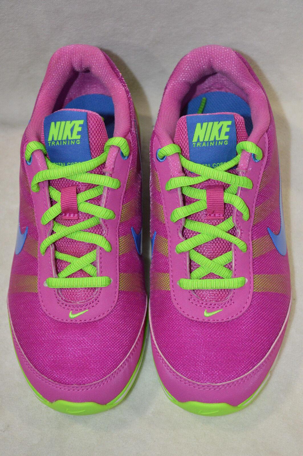 Nike Air Total Core Rosa Lime Weiß Cross-Trainers Cross-Trainers Cross-Trainers damen schuhe-Größe 5 & 9.5 NWB 7afdbf