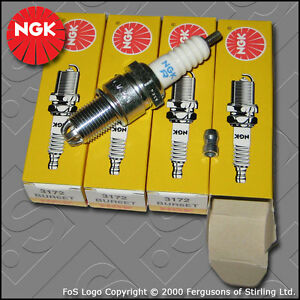 NGK-SPARK-PLUG-SET-for-VW-GOLF-MK3-1H-2-0-8V-GTI-2E-ADY-AGG-AKR-1991-1998