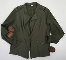 ms mode * Weste * Khaki * Military Look * Nieten * Schulterpassen * Gr 44/46