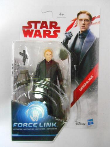 "l/'ultimo Jedi /""GENERALE Hux/"" FORZA LINK ACTION FIGURE HASBRO STAR Wars"