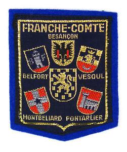 1f679a3fa56f Ecusson brodé ♢ (patch crest embroidered) ♢ FRANCHE-COMTÉ   eBay