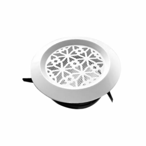 3inch Bathroom Internal Ventilation Grille Round White Duct Extractor fan 75mm