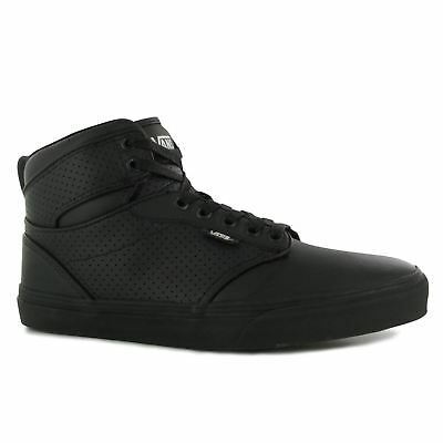 Vans Atwood Hi, Boys Sneakers, Black