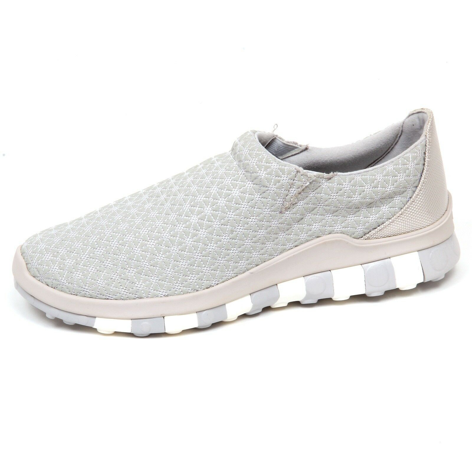 E8032 tissue/rubber (WITHOUT BOX) sneaker hombre tissue/rubber E8032 CCILU Gris slip on Zapatos man 8d9907