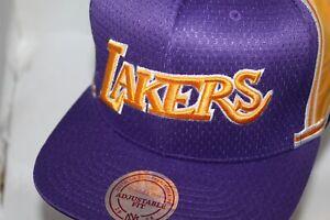 c4c999339d0 Los Angeles Lakers M & Ness NBA Jersey Mesh Hook Snapback,Cap ...