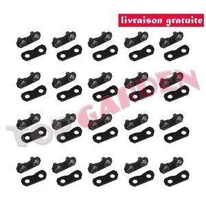 20-Maillons-3-8LP-1-3-mm-Lien-Rivet-Pour-Chaine-de-Tronconneuse