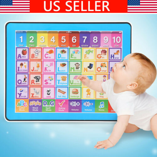 Educational Tablet Toy Girl For Older Than 18 Months Toddler Learning English