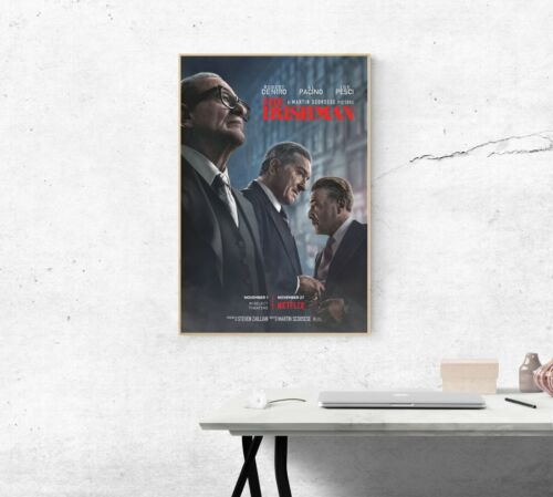 A2 A3 A6 Movie Poster Robert De Niro 2019 New Film Art Print The Irishman