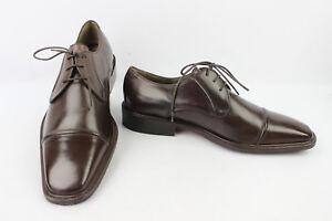 Us Detalles Marrón Uk Nuevo Zara Zapatos Man De 6 Oxford Todo Piel 7 zSUMVpqG