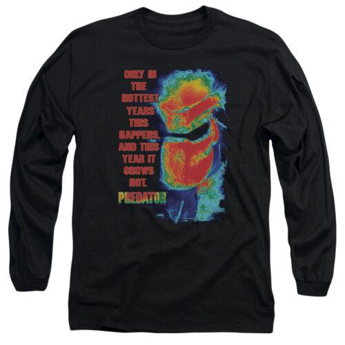Predator Movie THERMAL VISION Licensed Adult Long Sleeve T-Shirt S-3XL