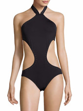 eedacc317d item 7 NWT Vince Camuto Swimsuit 1 one piece Sz 10 Studded Monokini High  Neck -NWT Vince Camuto Swimsuit 1 one piece Sz 10 Studded Monokini High Neck
