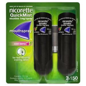 Nicorette Quickmist Duo Mouth Spray