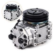 York Type New Ac Compressor Amp Clutch Et210l 25073c For Peterbilt Kenworth