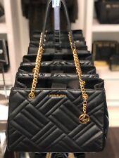 da2d81d9a018 item 4 MICHAEL KORS VIVIANNE LARGE Quilted Leather Chain Tote Shoulder Bag  In Black -MICHAEL KORS VIVIANNE LARGE Quilted Leather Chain Tote Shoulder  Bag In ...