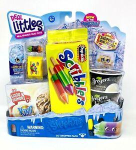 In stock! Real Littles Shopkins Lil/' Shopper Pack Scribblers Breyers 16-PacK