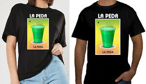 La Rosa La Dama La Peda Lotteria T-shirt Mexican La Sirena