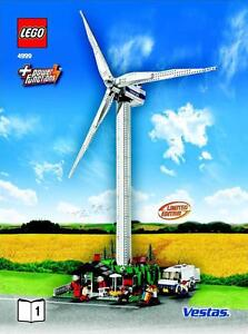 Details about LEGO Town 4999 Wind Turbine - Vestas Promotional New Sealed