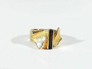 LAPPONIA-Gold-Turmalin-Ring-Design-Bjorn-Weckstrom-Finnland-1972