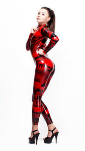 Epicentre-Patterned-Latex-Rubber-Catsuit-Easy-On-Chlorinated