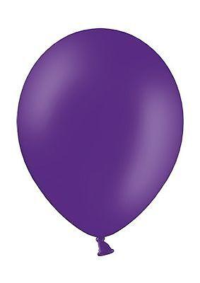 100 Luftballons Royal Lila Qualitätsballons Luftballon Europäische Produktion