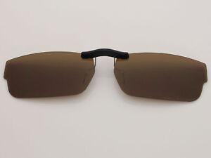 5d39fb6dd1 Custom Fit Polarized CLIP-ON Sunglasses For Servo (55) OX1080 55X18 ...