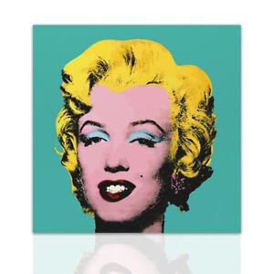 Quadro Marilyn Monroe stile Andy Warhol Arredo Casa Tela Pop Art ...