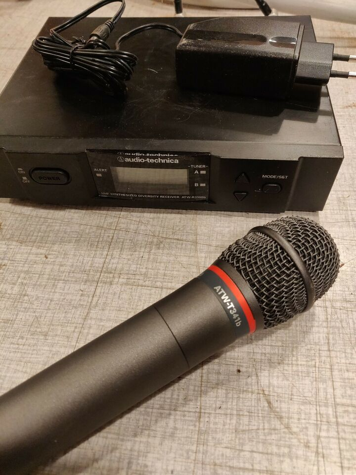Trådløse mikrofoner, Audio technica