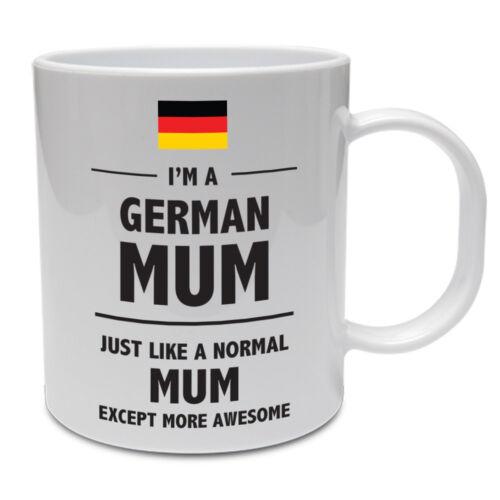 Nouveauté Maman allemand-Allemagne Drôle idée cadeau tasse en céramique mère MOMIE