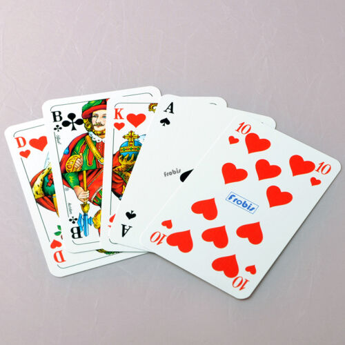 Doko offrant cartes de Frobis 10 tep jeux lin Français image