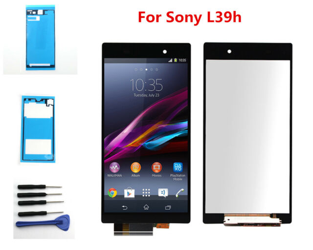 LCD Display + Touch Screen Digitizer For Sony XPERIA Z1 C6903 L39h Black + Tools