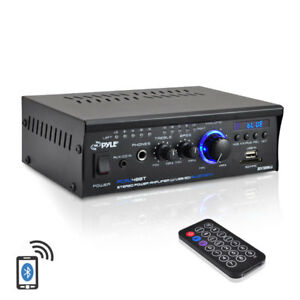 Pyle-PCAU48BT-2-x-120W-Bluetooth-Stereo-Power-Amplifier-USB-SD-AUX-amp-Remote