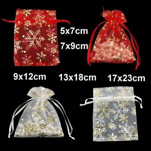 1-10-20-50-or-100-Ice-Organza-Gift-Bags-Jewellery-Pouches-Various-Size-UK