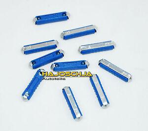 10-x-FUSIBLE-25A-Azul-TORPEDO-fusionar-6x25mm-ATS-BOSCH-toneladas-fusionar