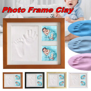 Image Is Loading Baby Hand Amp Foot Print Clay Cast Kit