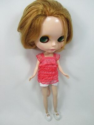Handmade clothing fashion Basaak top blouse layer for Blythe Pullip Doll  # A-11