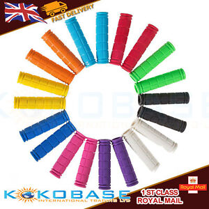 Soft-BMX-MTB-Cycle-Road-Mountain-Bicycle-Scooter-Bike-Handle-Bar-Grips-Hot-UK